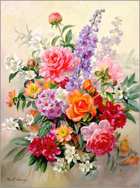 Albert Williams - A High Summer Bouquet