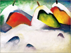Franz Marc - Hocken in the Snow