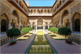 Matteo Colombo - Court of the maidens in the Alcazar of Seville, Andalusia, Spain