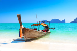 Long boat in Thailand