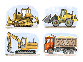 Hugos Illustrations - Hugo's construction site