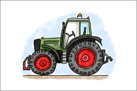 Hugos Illustrations - Hugos tractor