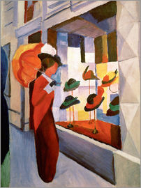 August Macke - Hat Shop