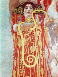 Gustav Klimt - Hygieia Detail from the medicine