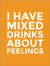 Creative Angel - I Have Mixed Drinks About Feelings