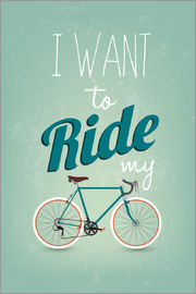 I want to ride my bike