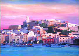 M. Bleichner - Ibiza Old Town and Harbour - Pearl Of the Mediterranean Sea