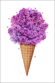 Valeriya Korenkova - Ice cream with lilac