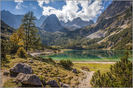 Christian Müringer - Idyllic mountain lake in the Tyrol mountains (Austria)