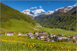 Christian Müringer - Idyllic mountain village Rein in Taufers in South Tyrol