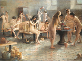 Vladimir Alexandrovich Plotnikov - In the bath house