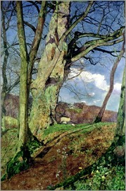 John William Inchbold - In Early Spring: A Study in March