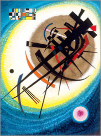 Wassily Kandinsky - In the bright oval