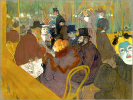 Henri de Toulouse-Lautrec - At the cabaret