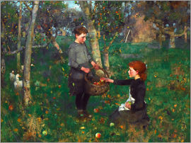 Sir James Guthrie - In the Orchard