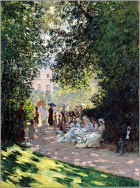 Claude Monet - In the Park Monceau