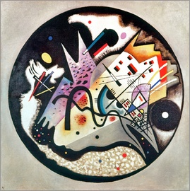 Wassily Kandinsky - In the Black Circle