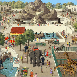 Ronald Lampitt - At the Zoo