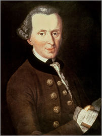 German School - Portrait of Emmanuel Kant