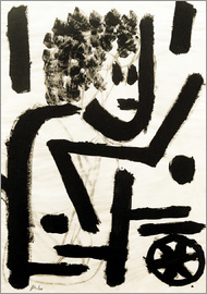 Paul Klee - in Deckung