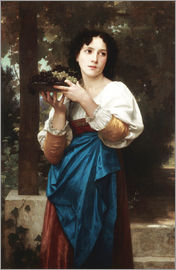 William Adolphe Bouguereau - In the vine