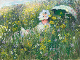 Claude Monet - In the Meadow
