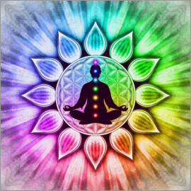 Dirk Czarnota - In Meditation With Chakras - Artwork III