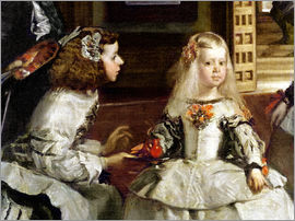 Diego Rodriguez de Silva y Velazquez - Las Meninas or The Family of Philip IV