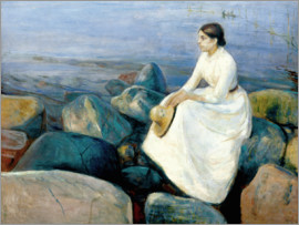 Edvard Munch - Inger on the beach