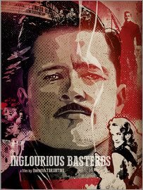Albert Cagnef - Inglourious Bastards Poster Lounge