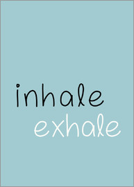 Finlay and Noa - Inhale Exhale Inspirational Home Decore