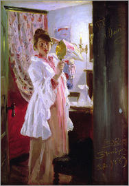 Peder Severin Kroyer - Interior with the Artist's Wife