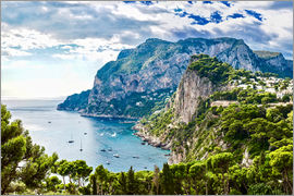Capri island in summer