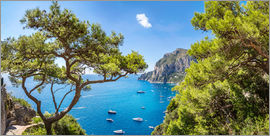 Capri in summer