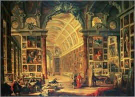 Giovanni Paolo Pannini - Interior View of The Colonna Gallery, Rome