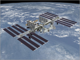 Stocktrek Images - International space station ISS