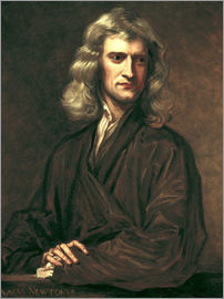 Thomas Oldham Barlow - Isaac Newton, after G. Kneller