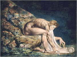 William Blake - Isaac Newton, 1795