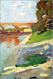 Wassily Kandinsky - Isar at Großhesselohe