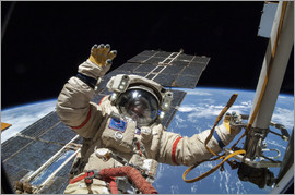 Nasa - ISS spacewalk