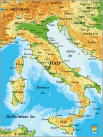 Italy _ Map