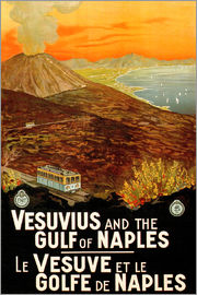 Italy - Vesuvius and the Gulf of Naples
