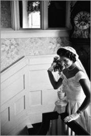 Jackie Kennedy at her wedding