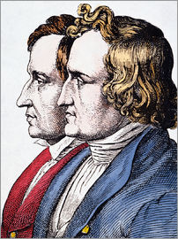 Jacob And Wilhelm Grimm.