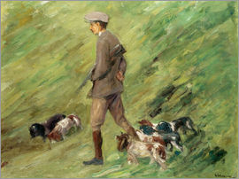 Max Liebermann - Hunter in the Dunes