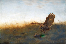 Bruno Andreas Liljefors - Hunting A Hare