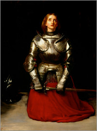 Sir John Everett Millais - Joan of Arc