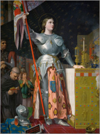 Jean Auguste Dominique Ingres - Joan of Arc on Coronation of Charles VII