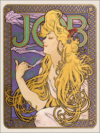 Alfons Mucha - Job, blonde