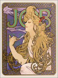 Alfons Mucha - Job, gold